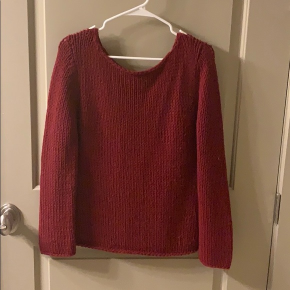 Eddie Bauer Sweaters - Eddie Bauer Red Will Sweater